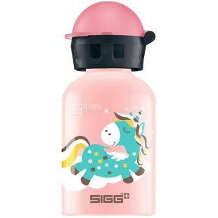 Sigg, Бутылочка детская для напитков, Голубой пони, 300 мл