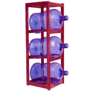 ViO, Підставка дерев'яна WS-3, під 3 бутлі води, Вишня