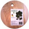 Дубравушка, Доска кухонная, круглая, дерево, 23 см