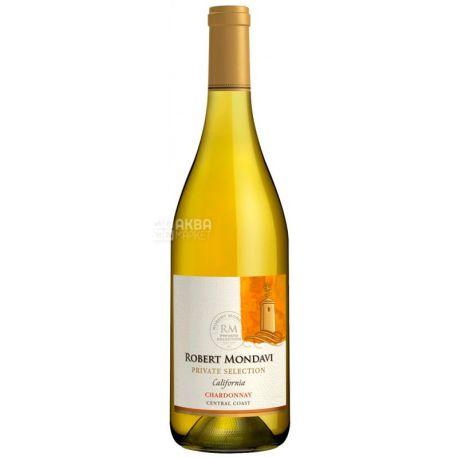 Robert Mondavi, Вино белое сухое, Chardonnay Private Selection, 0,75 л