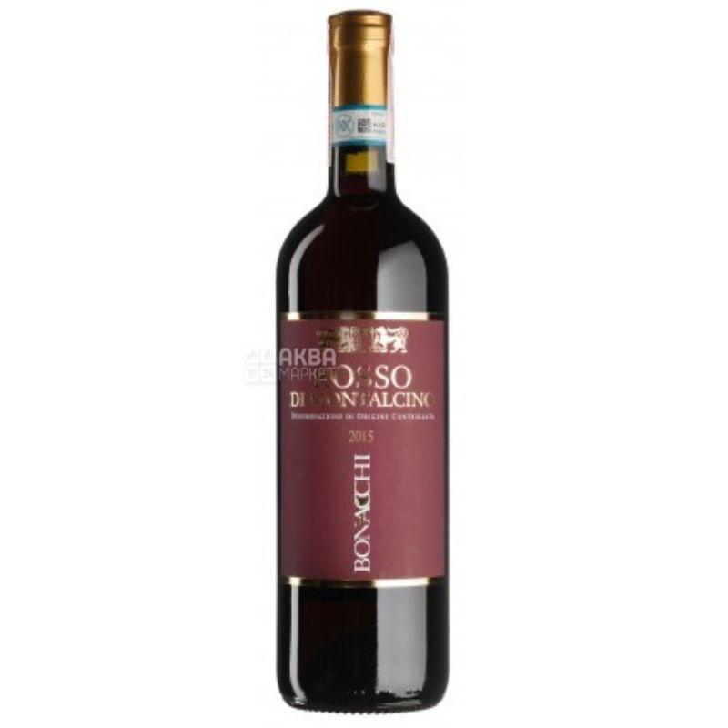 Bonacchi, Вино красное сухое, Rosso di Montalcino, 0,75 л