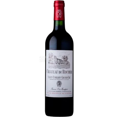 Chateau du Rocher 2016, Вино красное сухое, 0,75 л