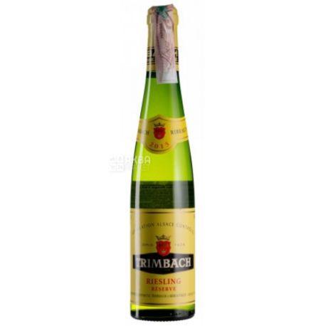 Trimbach, Riesling Reserve 2015, Вино белое сухое, 0,375 л