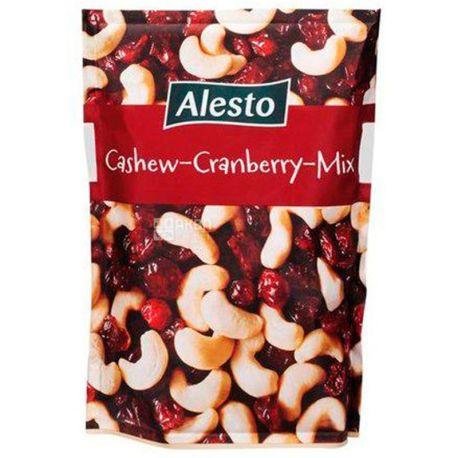 Alesto Cashew-Cranberry Mix, Микс орехов с кешью и клюквой, 200 г