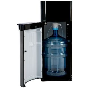 HotFrost 35AEN, Floor water cooler, black and gray, 1 tap