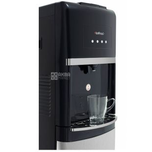 HotFrost 35AN, Floor water cooler, black and gray, 1 tap
