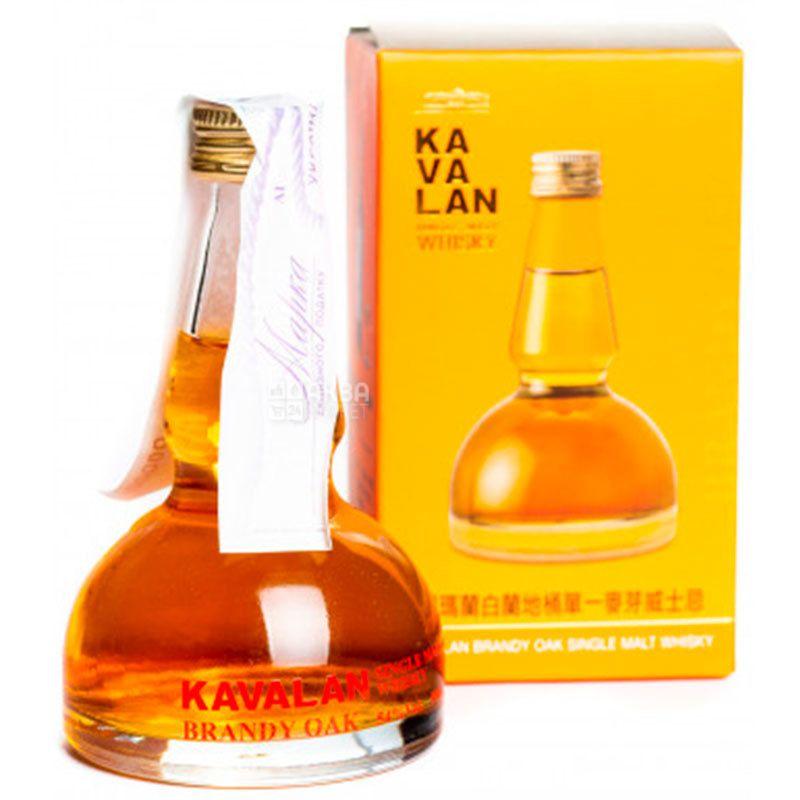 Kavalan, Виски, Brandy Oak, 0,05 л