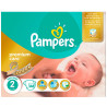 Pampers, 2, 148 шт., 3-6 кг, Пiдгузки, Premium Care New Baby