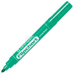 Centropen, Маркер для фліпчартів, зелений, 2,5 мм