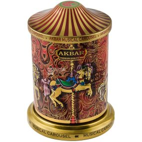 Akbar Orient Mystery Musical Carousel, 250 g, Floral Akbar Orient Mystery Musical Carousel Tea