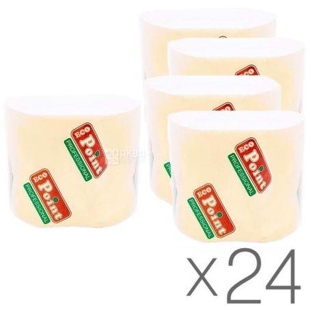 Mirus, Упаковка 24 шт. по 250 л., Туалетная бумага Мирус, Листовая, 2-х слойная