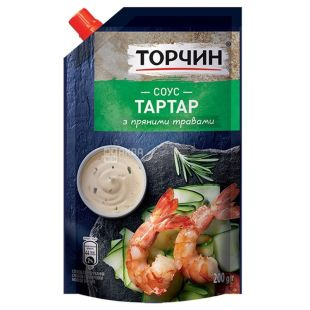 Torchin, 200 g, sauce, tartar