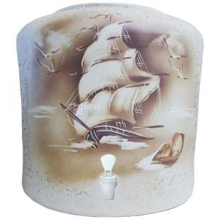 Ceramic water dispenser, Sail, Fireclay