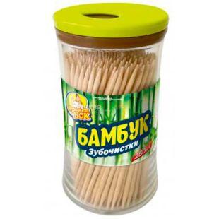 Фрекен Бок, Зубочистки бамбуковые, 250 шт.