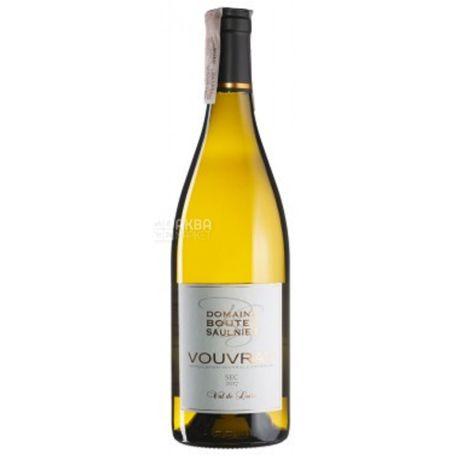 Vouvray Sec Boutet Saulnier, Domaine Boutet Saulnier, Вино біле сухе, 0,75 л