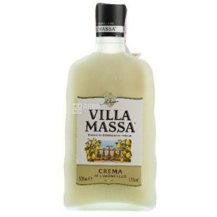 Crema di Limoncello, Villa Massa, ликер, 0.5 л