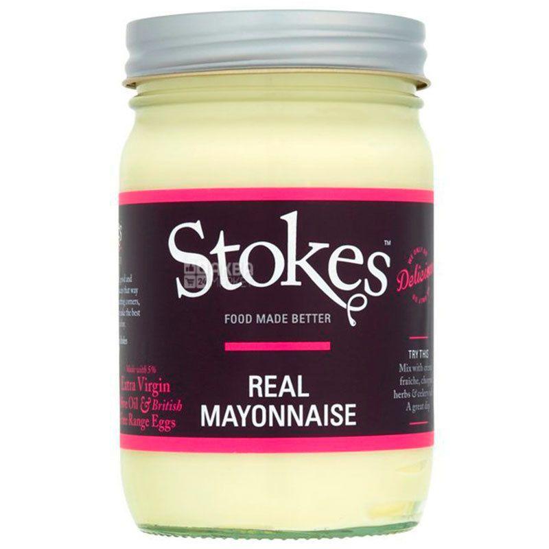 Stokes, Майонез с оливковым маслом, 345 г