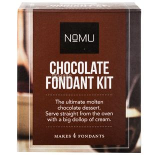 Nomu, Chocolate Fondant Mix, 220 g