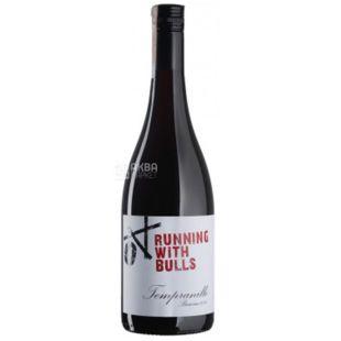 Barossa Tempranillo 2016, Running With Bulls, Вино червоне сухе, 0,75 л