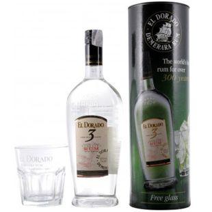 El Dorado, Rum, 0.7 l + glass