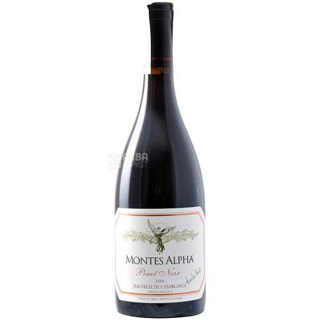 Pinot Noir Alpha, Montes, Вино красное сухое, 0,75 л