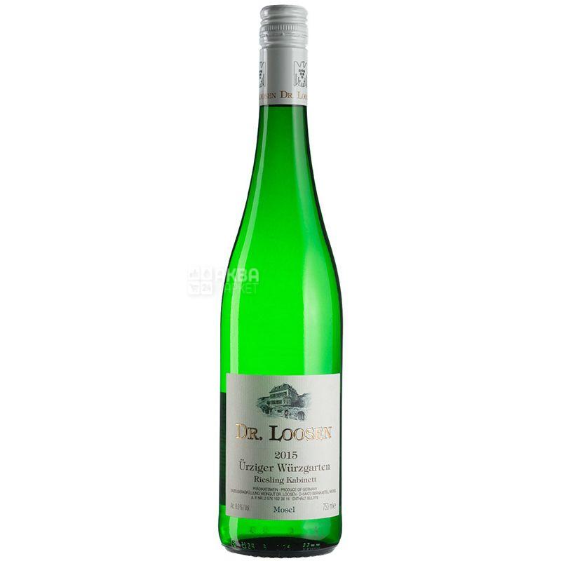 Riesling Kabinett Urziger Wurzgarten, Dr. Loosen, Вино белое сладкое, 0,75 л