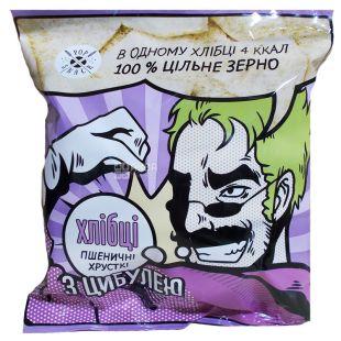 Pop Snack, Хлібці пшеничні з цибулею, 30 г