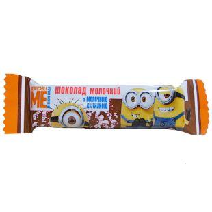 Любимов Kids Disney, Шоколад молочний з молочною начинкою, 12.5 г
