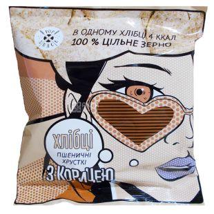 Pop Snack, Хлебцы пшеничные, с корицей, 30 г