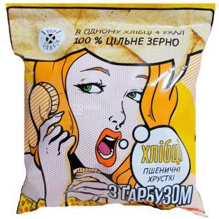 Pop Snack, Хлібці пшеничні з гарбузом, 30 г