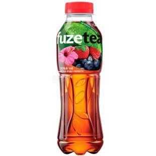 Fuzetea, 1 л, Чай Фьюзті холодний, чорний, Лісові ягоди і гібіскус