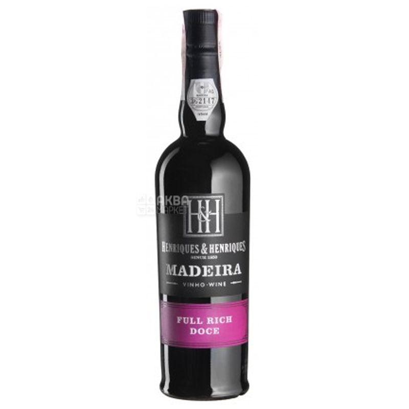 Full Rich, Henriques & Henriques, Вино белое сладкое, 0,5 л