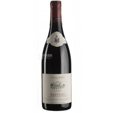 Famille Perrin, Rasteau L'Andeol Cotes du Rhone Village, Вино красное сухое, 0,75 л