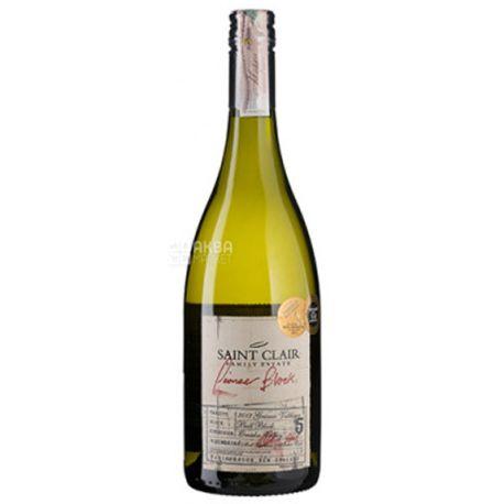 Saint Clair, Gruner Veltliner Pioneer Block, Вино белое сухое, 0,75 л