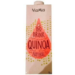 ViaMia, Bio Drink, Quinoa, 1 л, ВіаМіа, Напій з кіноа органічний, без цукру та глютену