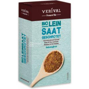 Verival, Насіння льону мелене, органічне, 250 г