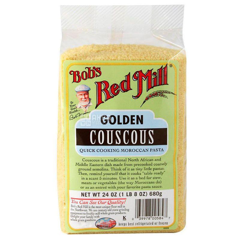 Bob's Red Mill, Golden Couscous, 680 г, Бобс Ред Милл, Кускус золотистый