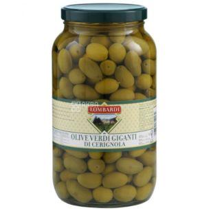 Lombardi, Green Olives, Nocelllar, 290 g