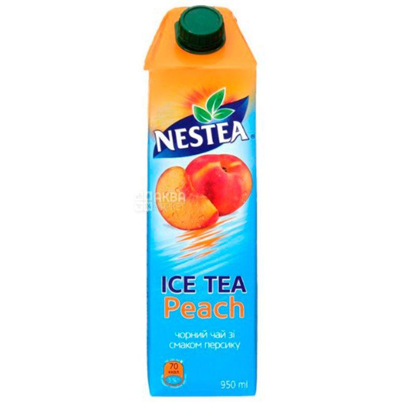 Nestea Peach, 0,95 л, Чай Нести холодный черный, Персик