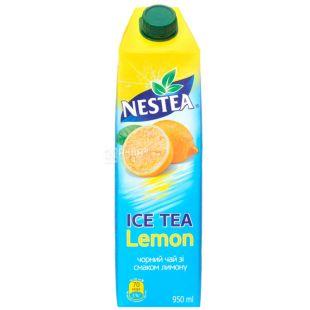 Nestea Lemon, 0,95 л, Чай Нести холодный черный, Лимон