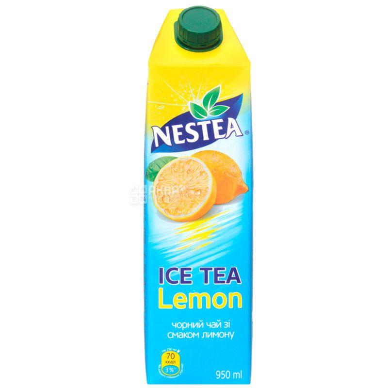 Nestea Lemon, 0,95 л, Чай Нести холодний чорний, Лимон