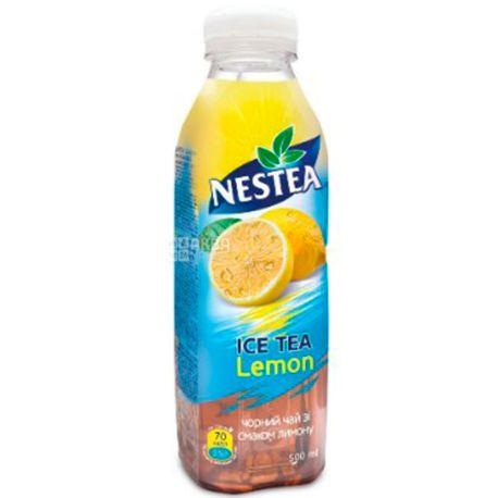 Nestea Lemon, 0,5 л, Чай Нести холодный черный, Лимон