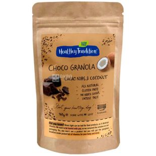 Healthy Tradition, Breakfast dry, Cocoa Coconut, 160 g