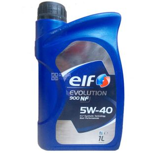 Elf Evolution 900 NF 5W-40, Моторное масло, 1 л