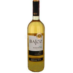 Bajoz Blanco Malvasia Toro, Вино белое сухое, 0,75 л