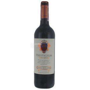 Prestigium Cuvee speciale, Вино красное полусладкое, 0,75 л