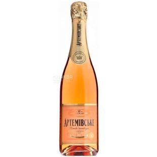 Артемовское, Вино выдержанное розовое полусухое, 0,75 л