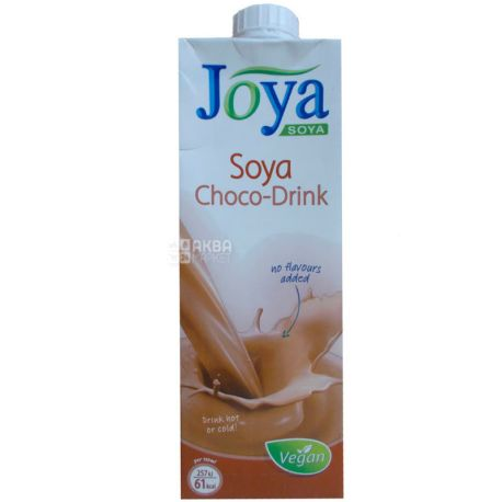 Joya Soya Chocolate, 1 л, Джоя, Соєве молоко, з шоколадом