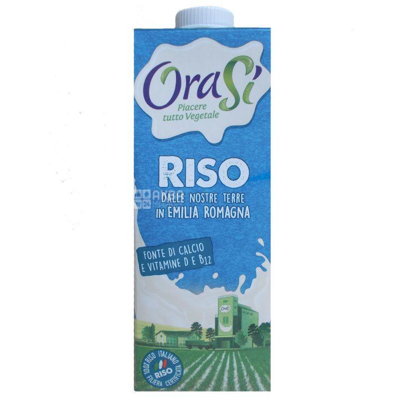 OraSi, Riso, 1л, ОраСи, Рисовый напиток, с витаминами и кальцием