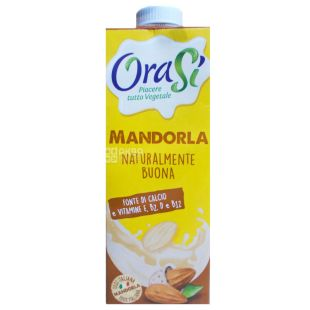 OraSi Almond 1l, Horace Almond Milk, With vitamins and calcium
